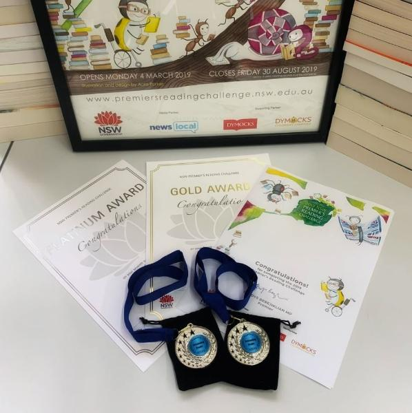 2019 certificates and medals